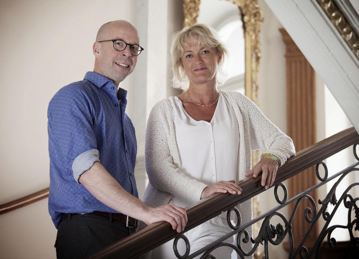 Martin Harris och Katarina Ehnmark-Lundquist