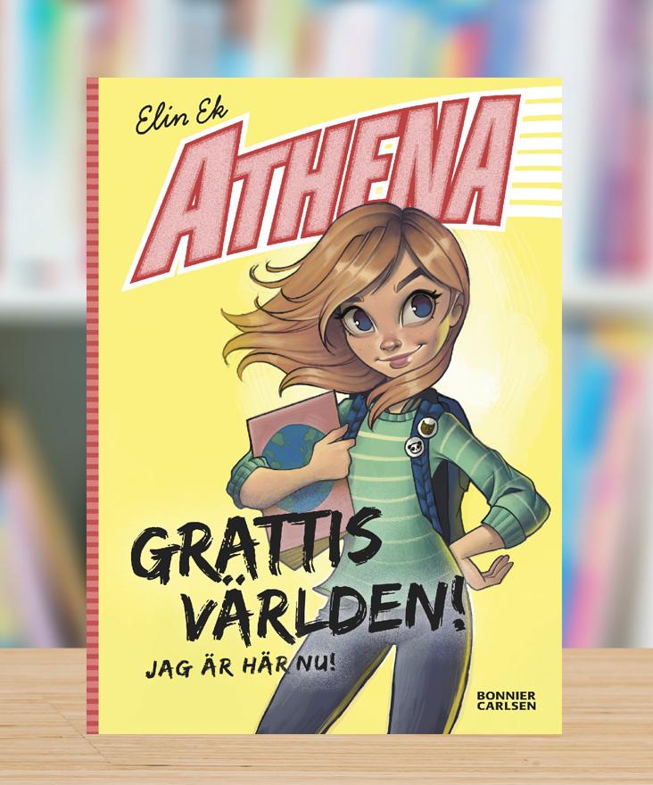 Athena – Grattis världen! Jag är här nu! av Elin Ek