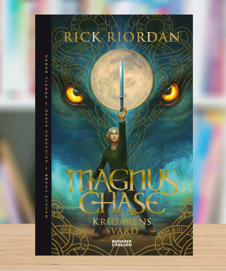 Magnus Chase – Krigarens svärd av Rick Riordan