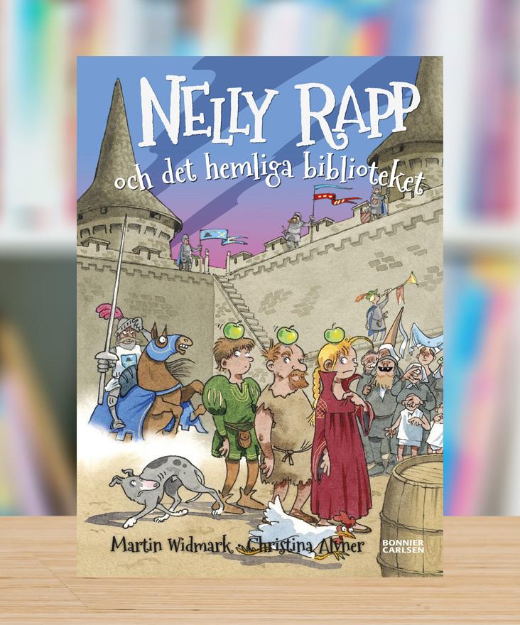 Nelly Rapp och det hemliga biblioteket av Martin Widmark och Christina Alvner
