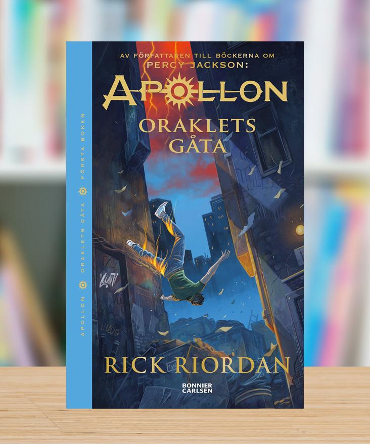 Apollon – Oraklets gåta av Rick Riordan