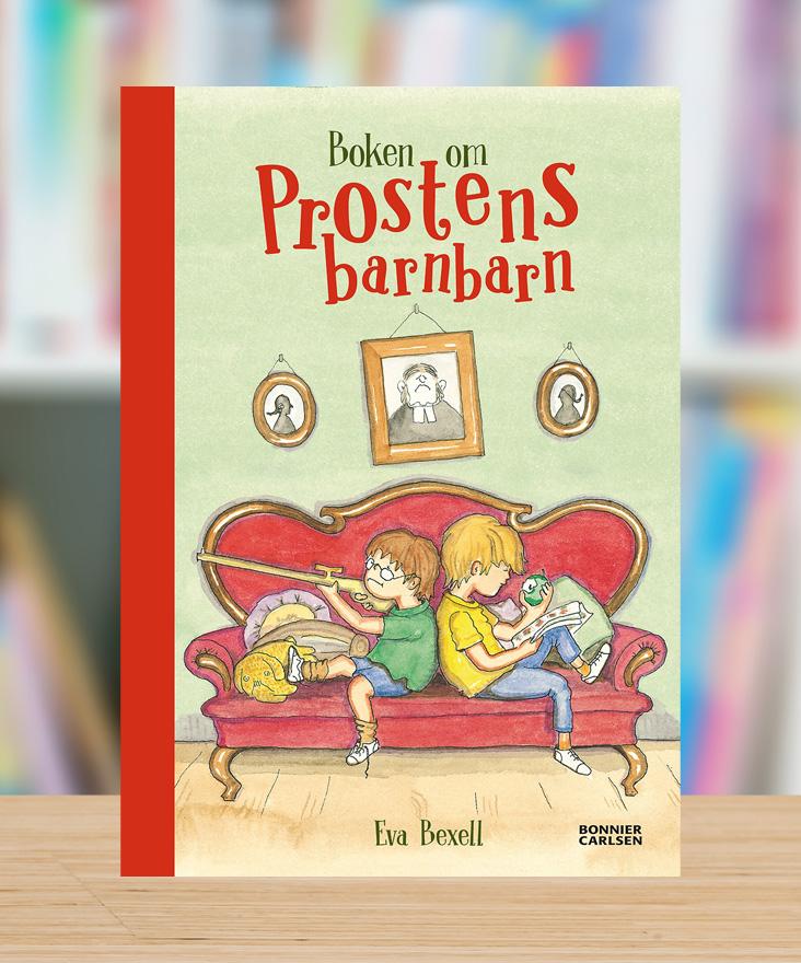 Boken om Prostens barnbarn av Eva Bexell