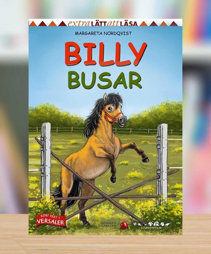 Djurkompisar: Billy busar av Margareta Nordqvist