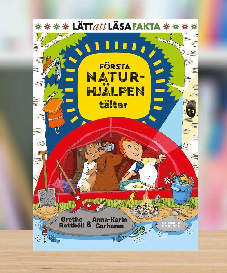 Första naturhjälpen tältar av Grethe Rottböll och Anna-Karin Garhamn