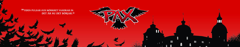 PAX-serien, sida från förlaget